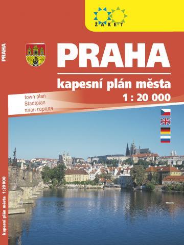 Praha kapesní knižní plán